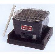 旨味を引き出す炭火の力☆手造角コンロ専用木箱付き