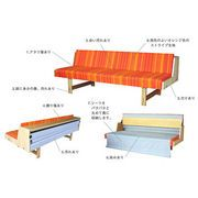 …wegner style orange daybed
