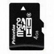 PMSDHC/4-4GB プリンストン microSDHCカード 4GB