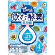 ぎゅっと濃縮 飲む酵素 乳酸菌210g(15g×14本)