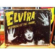 アメリカンブリキ看板 Elvira -スパイダーウェブ-