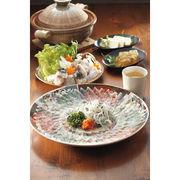 【代引不可】 ふぐ料理フルコース(絵皿・菊盛り) フグ