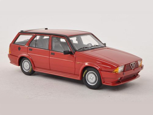 NEO/ネオ アルファ・ロメオ 75 Turbo Wagon Rayton Fissore (1986) レッド