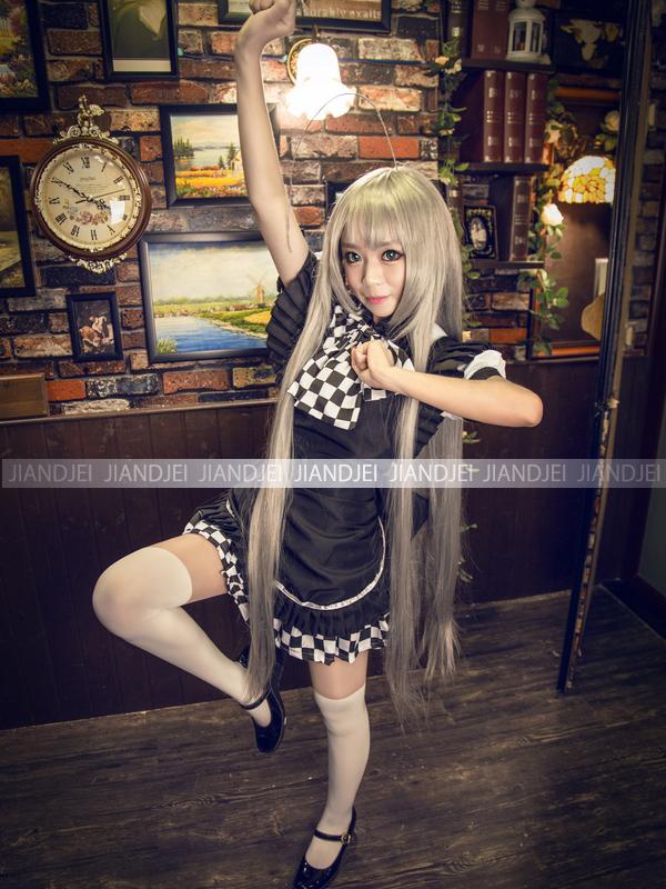 【即納】大きいリボンメイド服 萌えメイド コスチューム コスプレ コスチューム