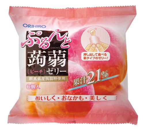 ぷるんと蒟蒻ゼリーTパウチ ピーチ