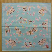 【外国人お土産シリーズ】フクロウシャンタンチーフ(縁起物)