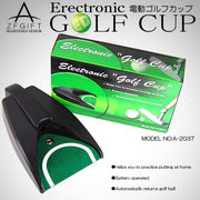 持運びも可☆本格的パッティング練習マシン 電動式ゴルフカップ