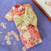 日本製  セレブスタイル  高品質ペットウェア 犬服の着物花もようピンク  SS/S/M/MD-M/L