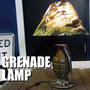 セールスプロモーションドール【GRENADE LAMP】手榴弾型ランプ