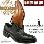 UN SNOBBISH 【MadeInJapan】本革紳士ビジネスシューズ T-603