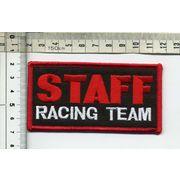 輸入ワッペン STAFF RACING TEAM スタッフレーシングチーム
