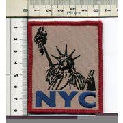 輸入ワッペン NYC 自由の女神