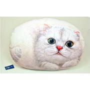 【HenryCats&Friends】ヘンリーキャット ネコ型クッション 大 オリビア インテリア 猫 ねこ 雑貨