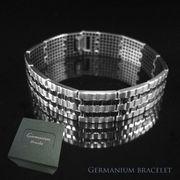 純チタンゲルマニウム600石ブレスレット