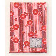 【ご紹介します!安心の日本製!伝統の小紋柄がかわいくなった!和柄の二重ガーゼ ハンカチ!】椿