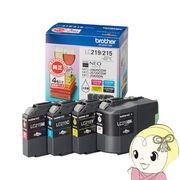 LC219/215-4PK ブラザー ブラザー純正インク 大容量タイプ(4色セット)