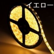 LEDテープライト/5050型チップ/イエロー/5M/300発/IP44防水