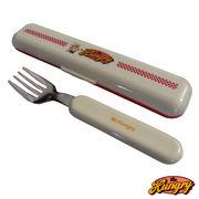 Mr.Hungry(ミスターハングリー)ランチアイテム【フォーク&フォークケース】お弁当箱