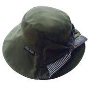 WG Premium ガーデニング用帽子 モスグリーン