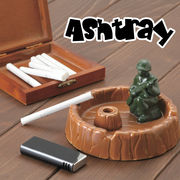 【おしゃれ雑貨 インテリア】アシュトレイ 宇宙飛行士 アーミー 灰皿 ジオラマ 火消し シロクマ