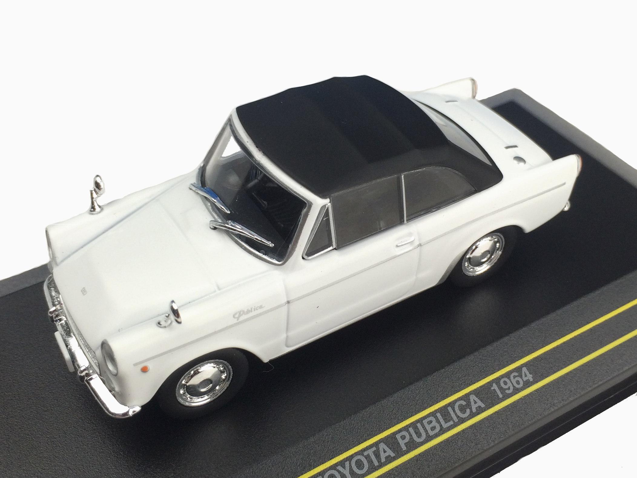 First43/ファースト43 トヨタ パブリカ コンバーチブル 1964 ホワイト (幌付き)