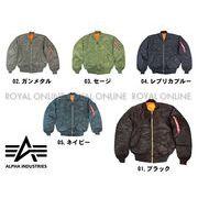 【アルファ】 MA-1 フライト ジャケット 全5色 メンズ
