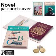 必要なカード類も一緒に収納できる♪【ノベルパスポートカバー】