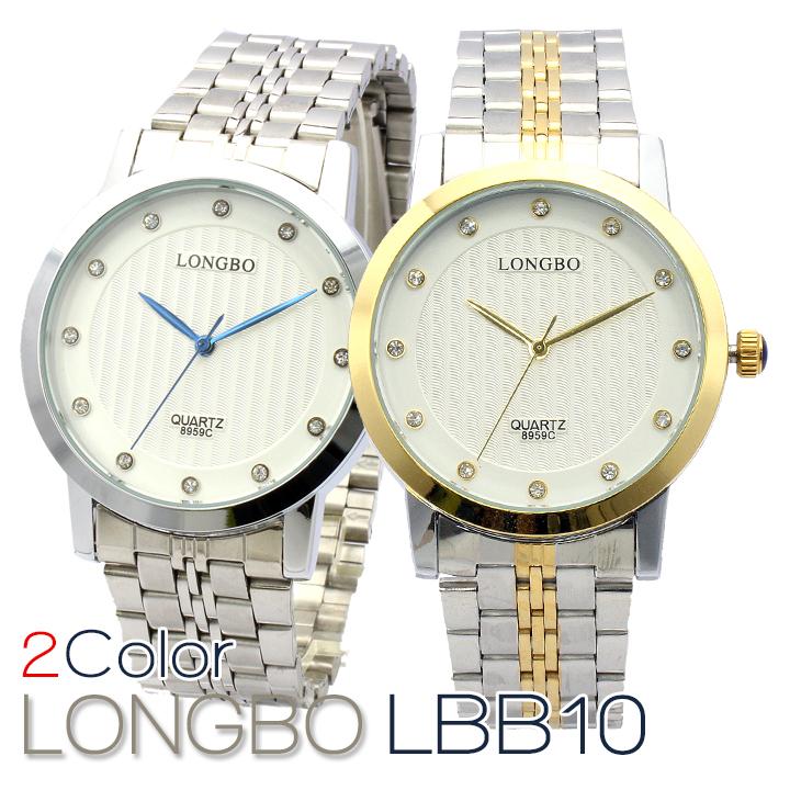 LONGBO メンズ 腕時計 LBB10