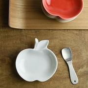 深山 apple りんご豆小皿 白磁/white[美濃焼]