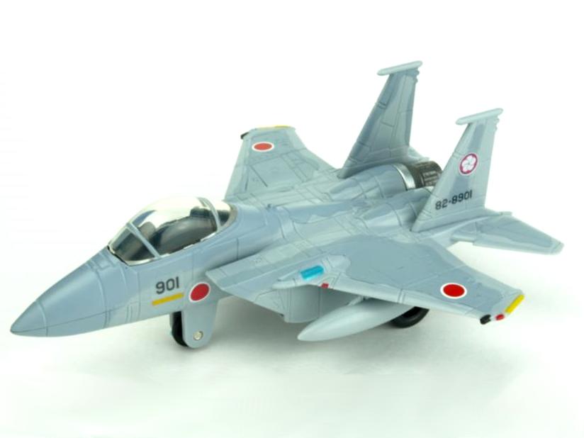 KBオリジナル アイテム プルバックマシーン イーグル 戦闘機