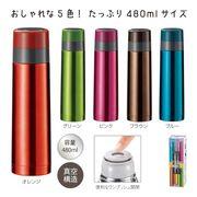 A-真空ステンレス スタイリングボトル480ml(1056)