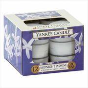 YANKEE CANDLE YANKEE CANDLE クリアカップティーライト12個入り 「 ミッドナイトジャスミン 」