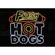 HOT DOGS ホットドッグ (ネオン管 看板 アメリカン雑貨 ・NEON SIGN・ネオンサイン)