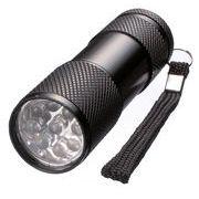 9灯式LEDパワーライト / 防犯 防災 アウトドア