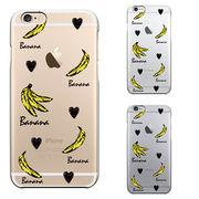 iPhone6 iPhone6S ハード クリアケース カバー シェル banana