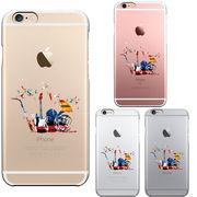 iPhone6 iPhone6S アイフォン ハード クリア ケース カバー シェル ジャケット 楽器 たち