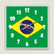 MYCLO 「世界の国旗」シリーズ時計 02 ブラジル