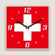 MYCLO 「世界の国旗」シリーズ時計 08 スイス