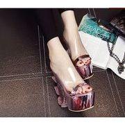 【初回送料無料】ファッション夜店ハイヒール☆シルバー/ピンク2色○too-dn8088-1-256