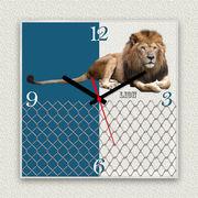 MYCLO 「アニマル」シリーズ時計 09 ライオン オリジナル 文字盤時計