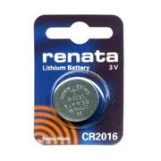 RENATA CR2016 (ECR2016 DL2016 KECR2016-1 FA SB-T11 280-206)/電卓、カーリモコンキーレス