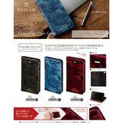 iphone6S/6対応  BZGLAM カモフラージュ ダイアリー カバー