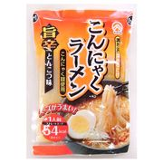 スープまで飲んでも54kcal!こんにゃくラーメン 旨辛とんこつ味 30食分 ダイエットに