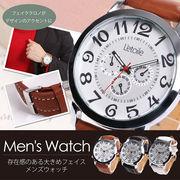 腕時計 メンズ L'etoile レトワール 大きめかつ薄型ケース AM10