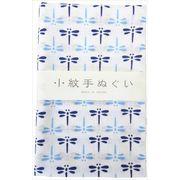 宮本 日本製 小紋手拭 青とんぼ 約33×90cm