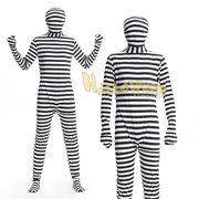 【即日出荷】メンズ 囚人服 フィットマンプリゾナー 泥棒  コスプレ衣装【5555/1】