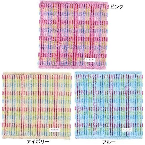 今治タオルはじめました!日本製 今治ミニタオル 「わわわ イロドリ しましま」!タオルハンカチ