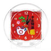 干支(酉)開運時計(1個)【色柄指定不可】 14-35