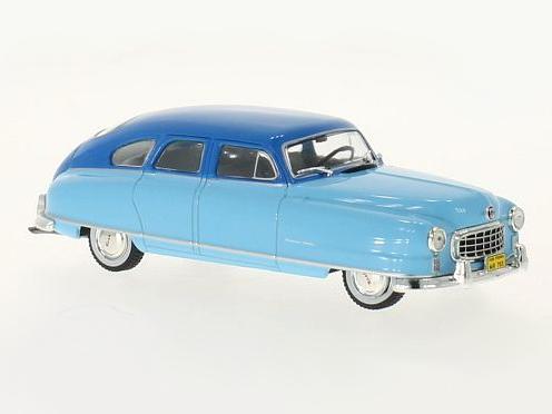WHITE BOX/ホワイトボックス ナッシュ アンバサダー 1950 ライトブルー/ブルー