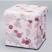 【春の大感謝祭セール!】【スツールボックス Mサイズ】La vie en rose